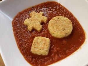 Syrový kus kus v paradajkách