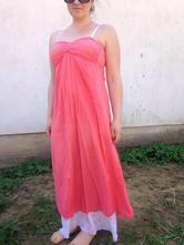 Šaty bez ramienok made in italy, s