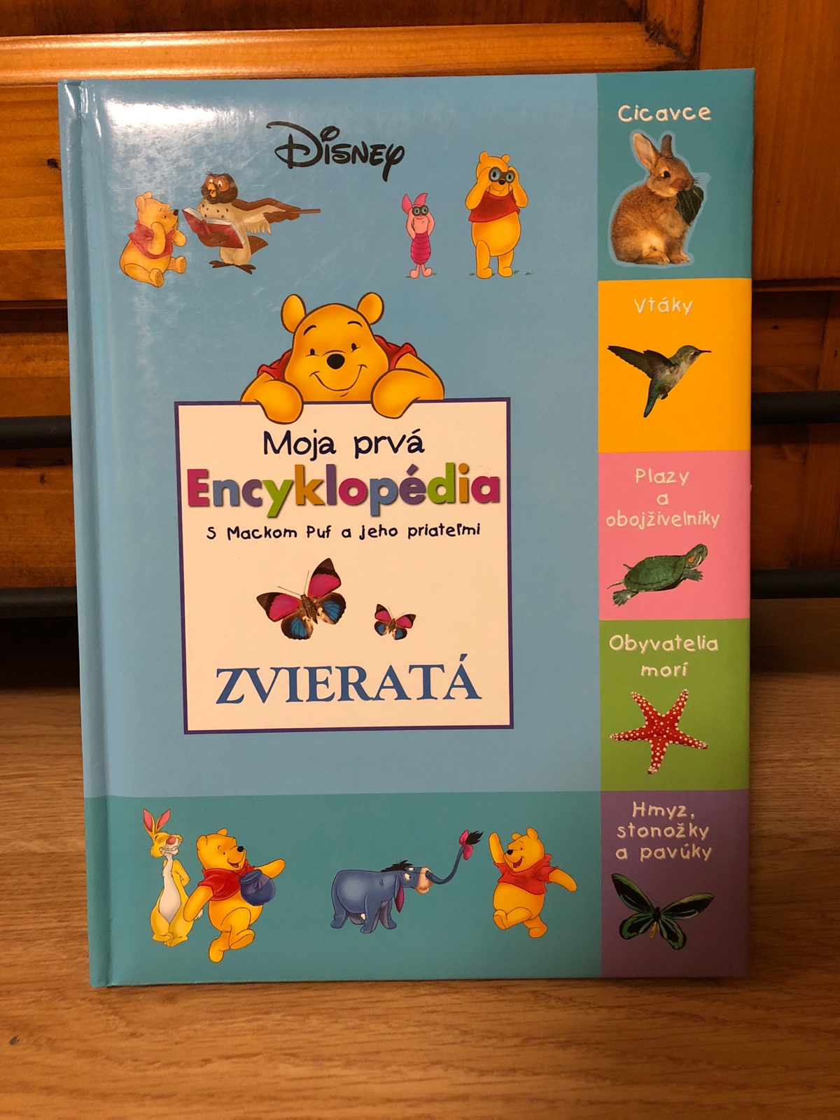 Moja prvá encyklopédia - zvieratá 005694312c4