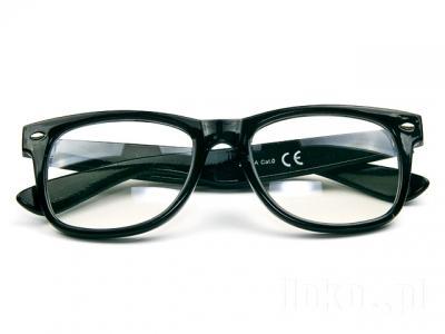 1eca373c6 Retro okuliare wayfarer - číre sklá, - 4,75 € od predávajúcej ...