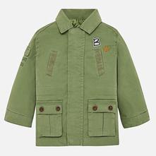 Chlapčenský kabát na zips mayoral 1441-036 sage, mayoral,80 / 86 / 92