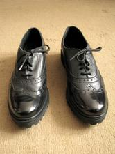 Kožené čierne poltopánky lasocki, lasocki,41