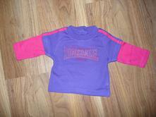Fialové tričko , lonsdale,62