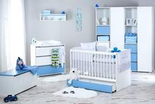 Detská izba dalia blue,