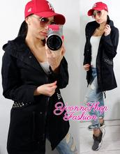 Úžasný dámsky bavlnený kabátik, l / m / s / xl