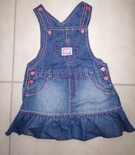 Riflové šaty, f&f,80