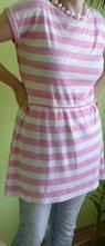 Trendy šaty bavlna m/l fajný strih, select,m