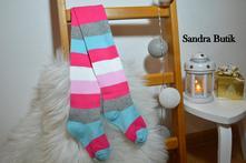 Detské bavlnené pančušky rôzne farby a motívy, 50 - 164
