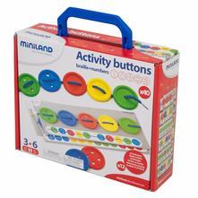 Aktivity s gombíkami 3+, 12 návodov,