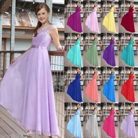 bc31e512cb3c Dlhé dievčenské spoločenské šaty 4-15r. zelené