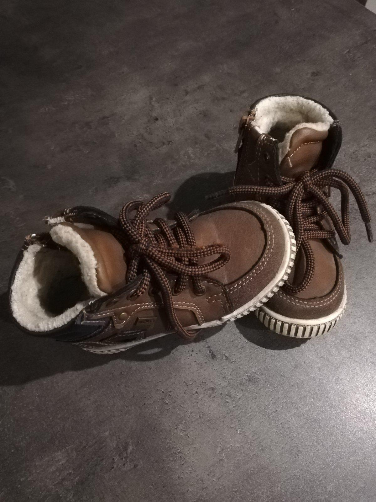 Zimné zateplené topánky 8e6caba4e24