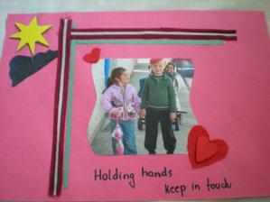 nase deti sa mali radi - rovnako ako Ja a Katia, spomienkovy fotoalbum odo mna - nech nezabudne