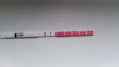 21dpo, posledny test a uz len cakat tri tyzdne na sono :-)