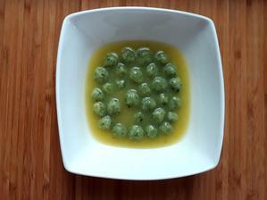 Cukinova polievka a spenatove gulicky