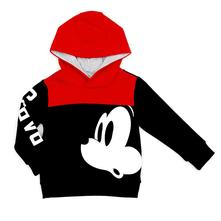 Disney mickey mouse mikina unisex, disney,92 - 140