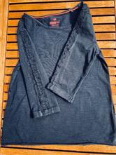 Modré tričko s čipkou, pepperts,122