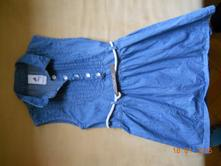 Rifľové šaty, palomino,122