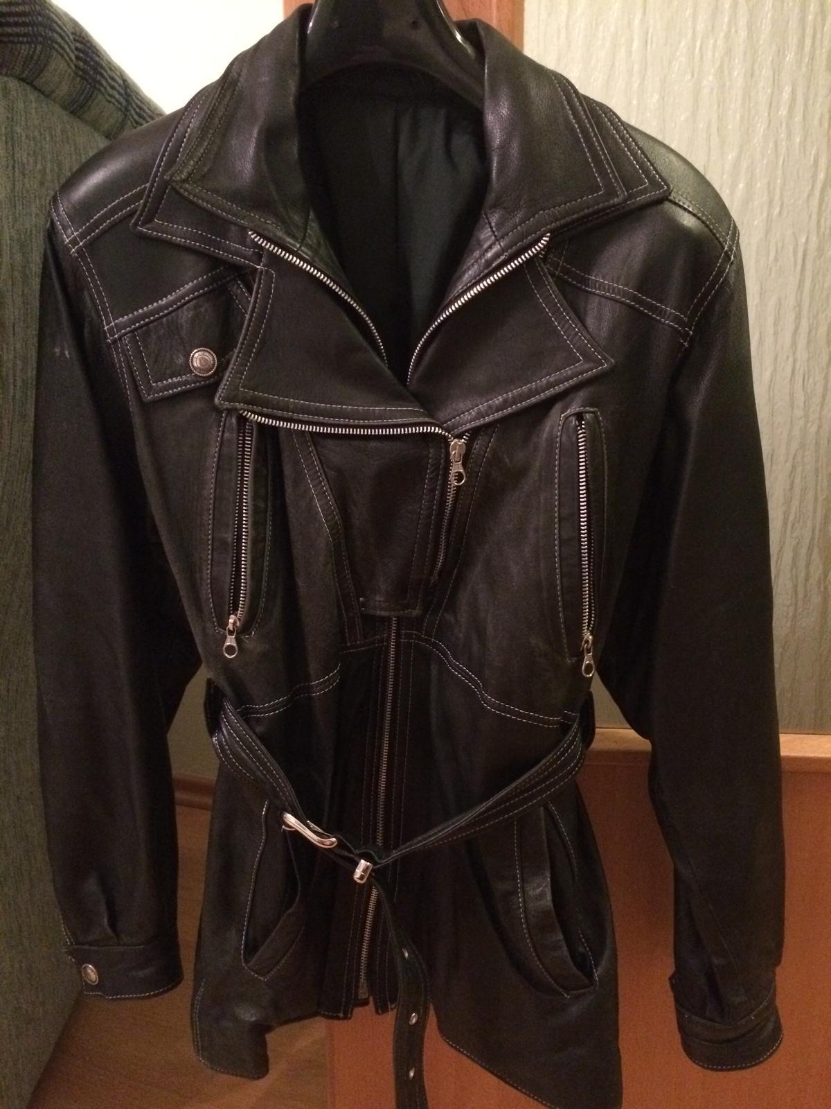 Kožený kabát  d8ba544f592