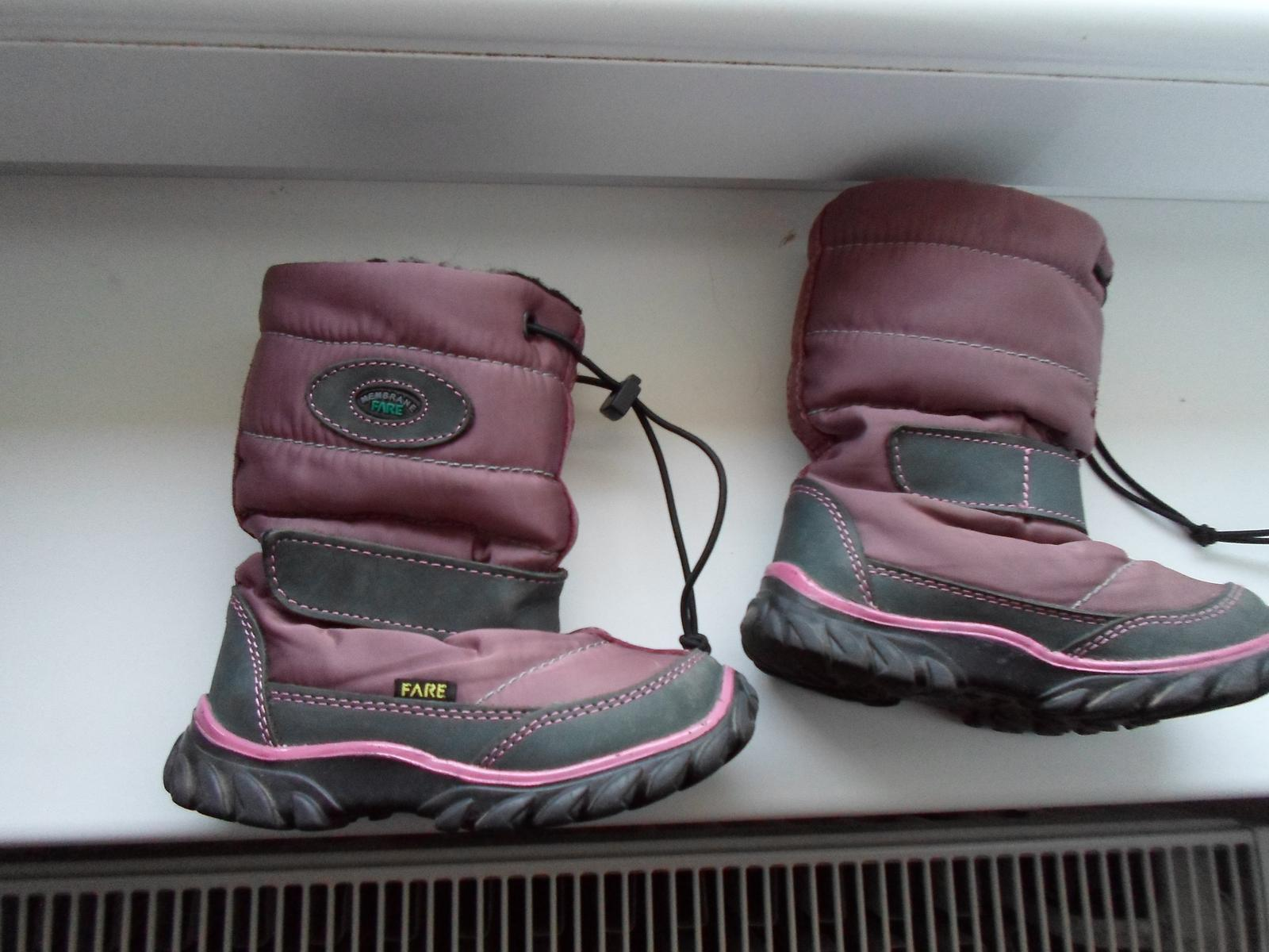 Zimné čižmičky 9f97f7068fd