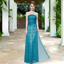Šaty   Ever-Pretty   Tyrkysová - Detský bazár  561b71ebcea