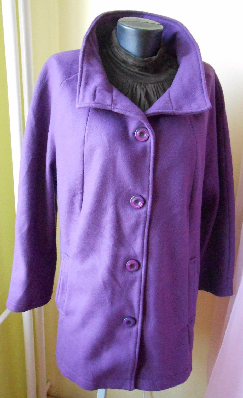 c90574d39b92 Fialový kabátik pre moletky