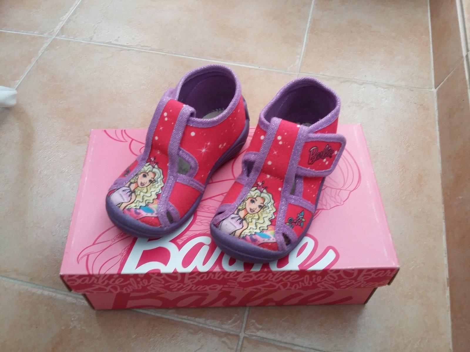 0343fab6de4 Papuče barbie