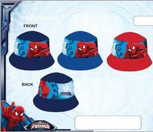 Klobúk spiderman modrý,tm.modrý,červený, marvel,116 / 134