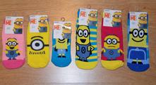 Detské rozprávkové ponožky mimoň, 17 - 35