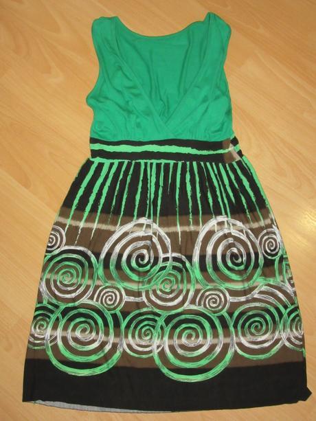 286f2d82dab9 Italy - zelené letné šaty