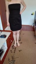 Čierne šaty - kokteilky, f&f,38