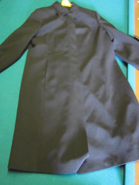 Čierny plášť dámsky 3f272963592