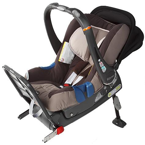 S isofixom romer baby safe plus II
