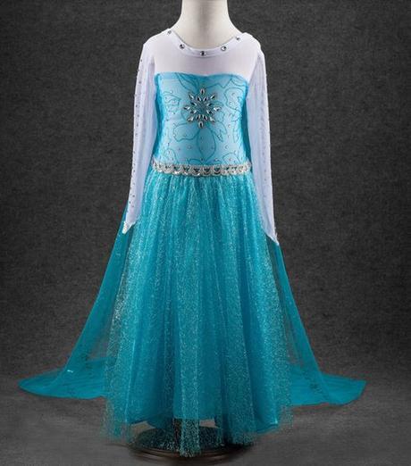 5429964b60a7 Elsa šaty - frozen
