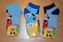 Detské rozprávkové ponožky mickey mouse, 17 - 35