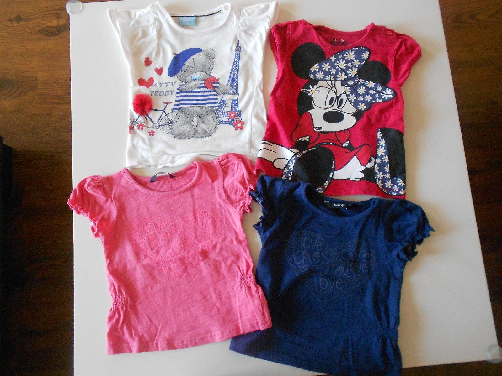 Tričká george-modré a ružové 9d1db5eb75
