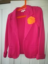 Ružové úpletové sako, bluezoo,128