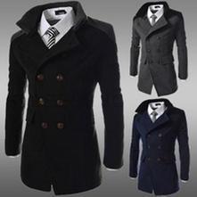 Slim fit millitary kabát m, l, xl, xxl, l / m / xl / xxl