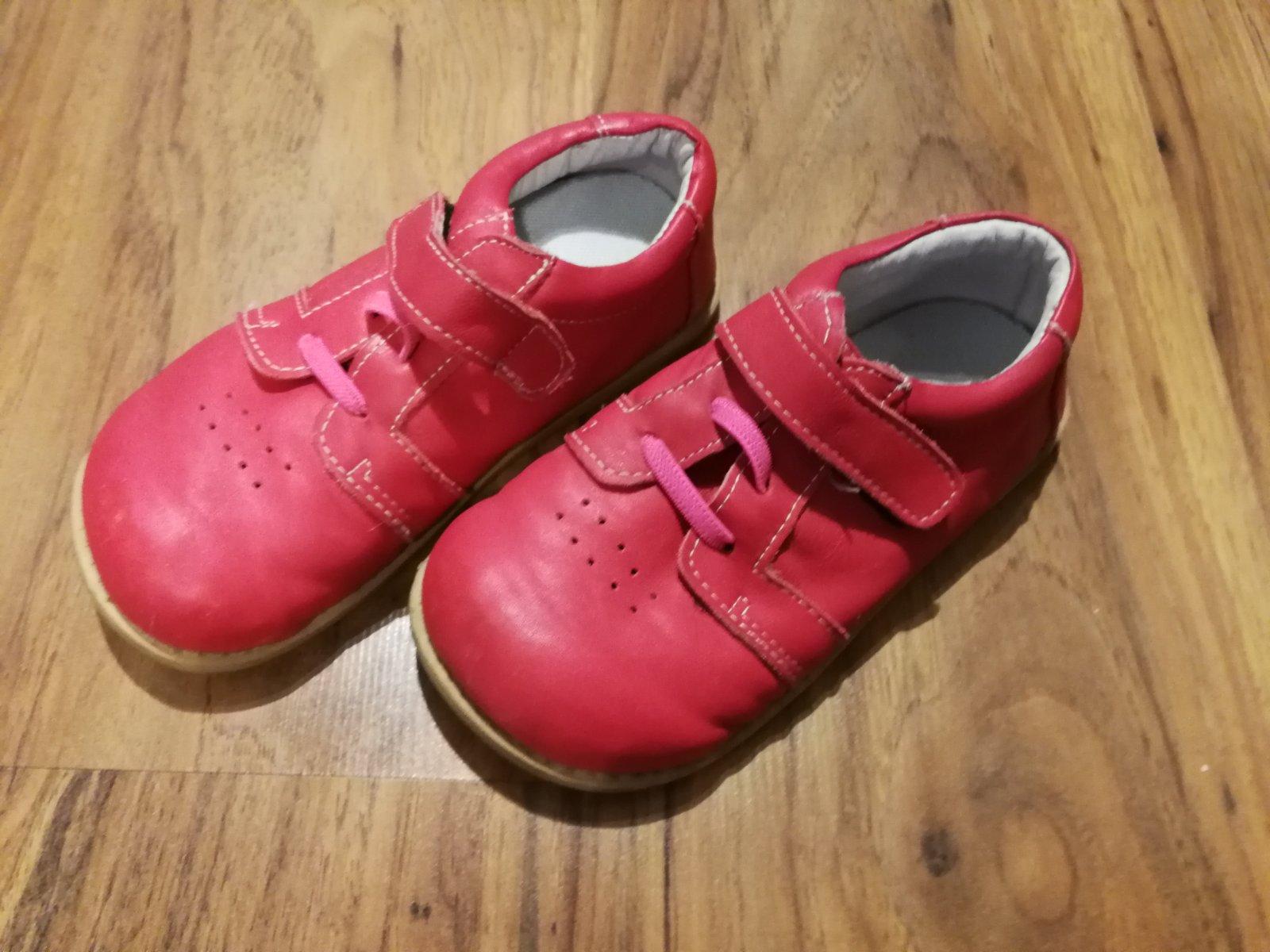 9f5dd99ee9d9 Jarné kožené barefoot topánky vd 18