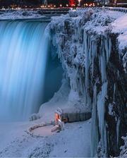 Frozen Niagara Falls- Ontario