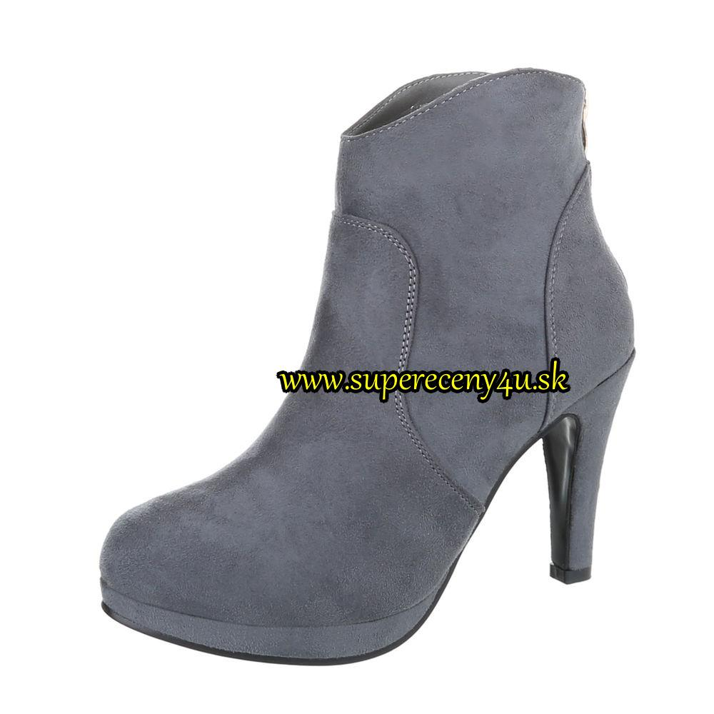 53bf57467a Dámske členkové topánky  č.36