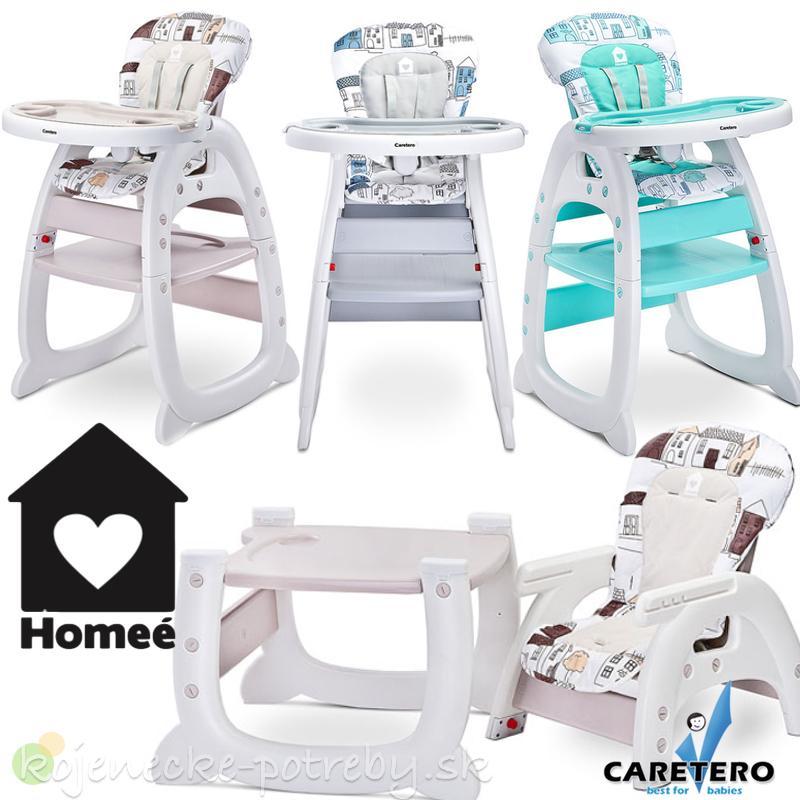 521b4f2184d8d Jedálenská stolička caretero homee, - 85 € od predávajúcej  kojenecke_potreby | Detský bazár | ModryKonik.sk