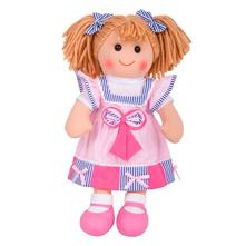 Textilná bábika georgie 38 cm 12m+,