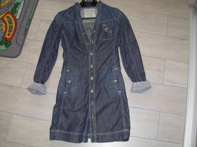 82e75f25ed9c Riflové šaty