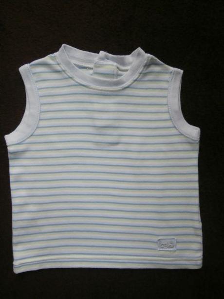Tielko tričko bez rukávov, 74