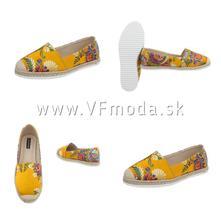 Dámska módna obuv espadrilky, 36 - 41