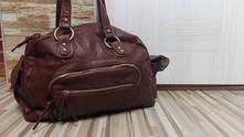 Nová hnedá nenosená kabelka z predajne six,