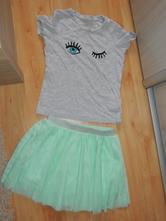 Tričko+sukňa zn.tchibo, 134