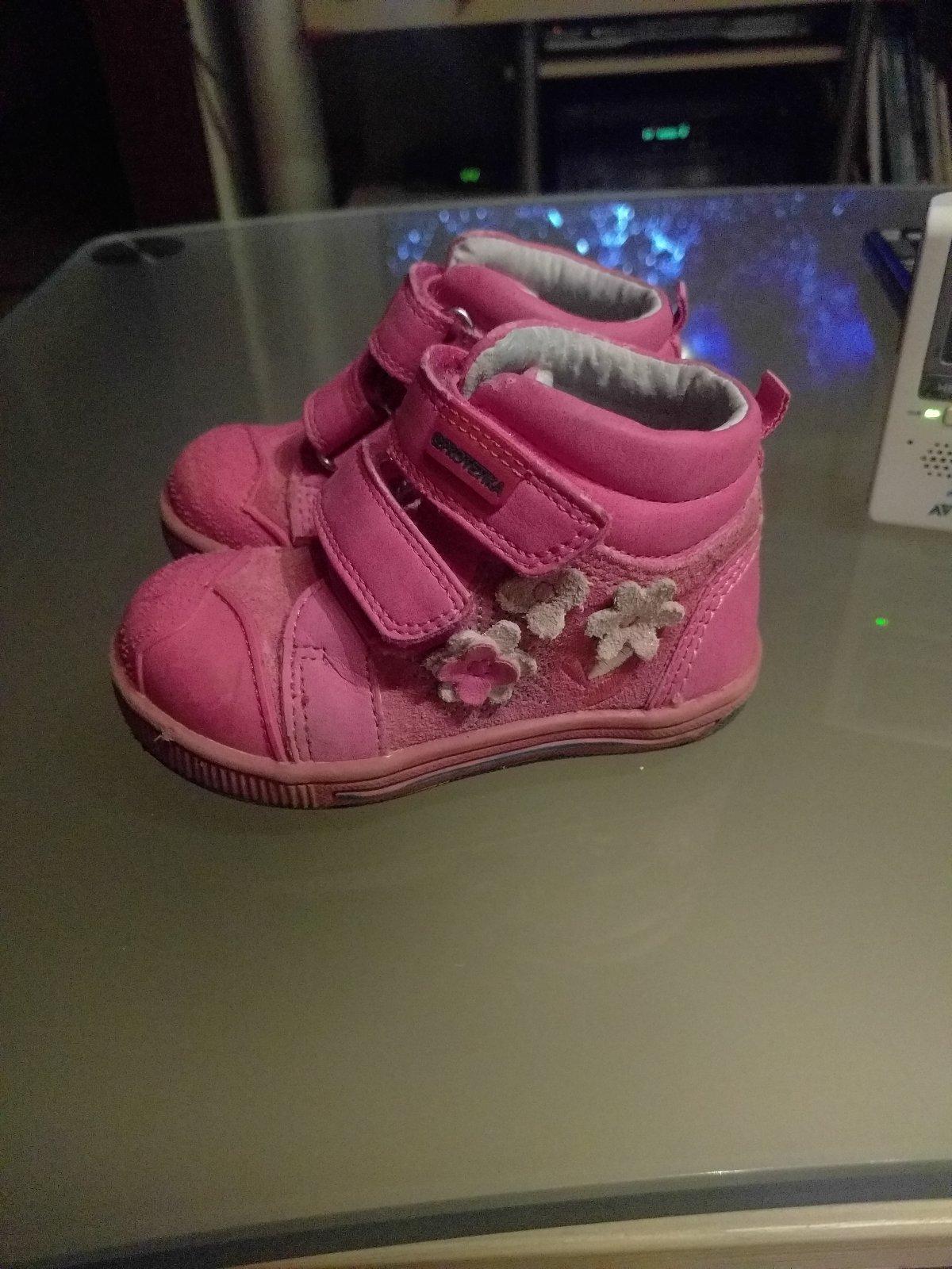 6ff3621babc4 Protetika dievčenská celoročná obuv č. 19