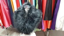 Pelerínkový šál, čiernostrieborný - nový, l - xxxl