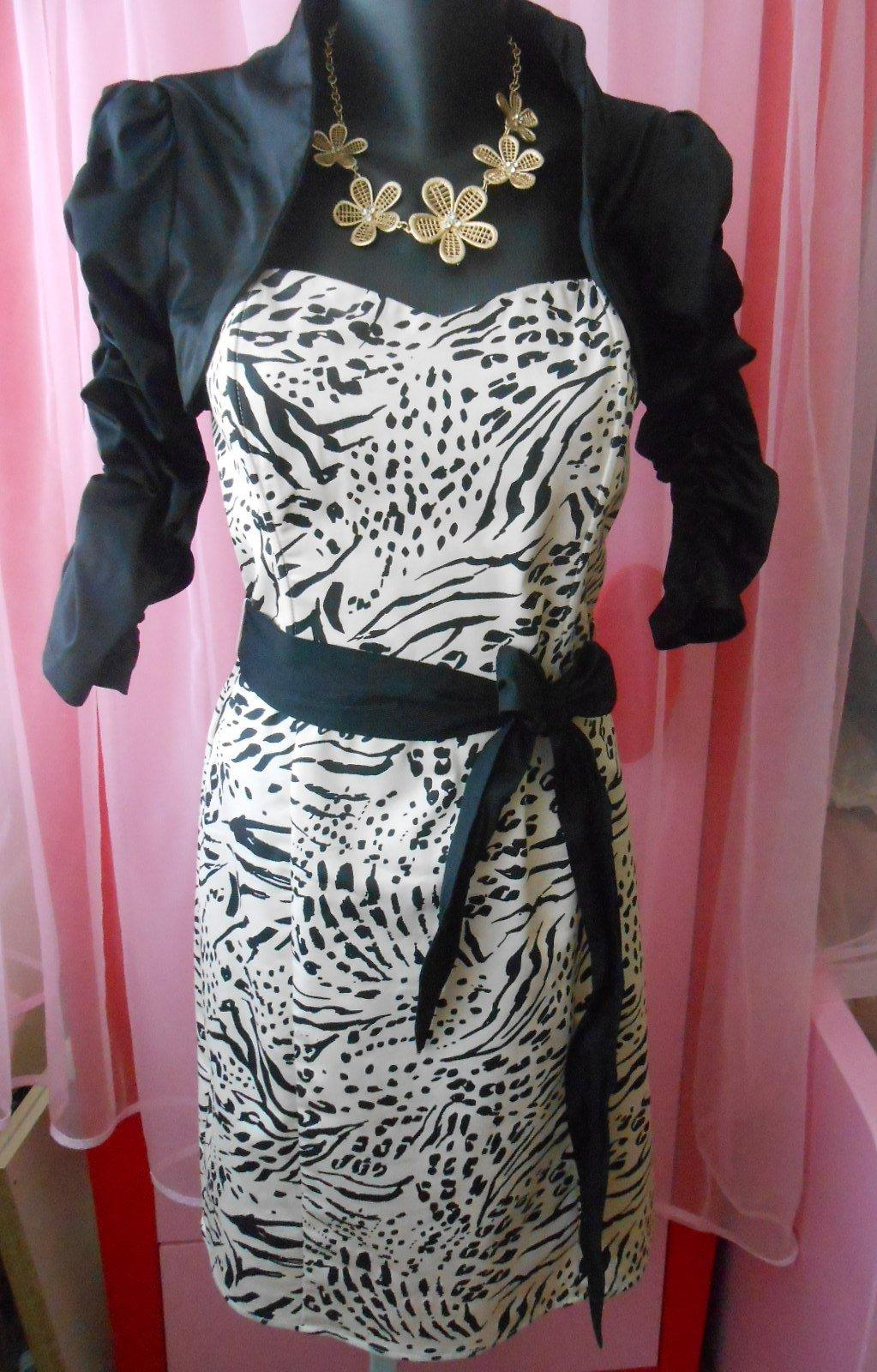 Elegantné tigrované šaty 6d3d55afe64